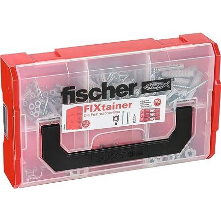 Fischer 532890 Clavija de carpintería, Set de 212 Piezas