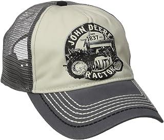 John Deere Mens 13080288CH Vintage Tractor Mesh Back Cap Baseball Cap