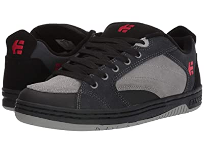 etnies Czar (Black/Dark Grey/Grey) Men
