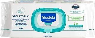 Mustela Stelatopia Replenishing Wipes - Fragrance-Free - for Eczema-Prone Skin, x50