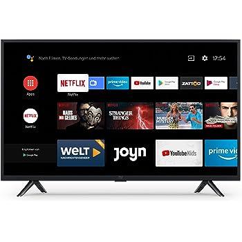 Xiaomi Mi Smart TV 4A 32 Zoll (HD LED Smart TV, Triple Tuner, Android TV 9.0, Fernbedienung mit Mikrofon, Amazon Prime Video und Netflix)