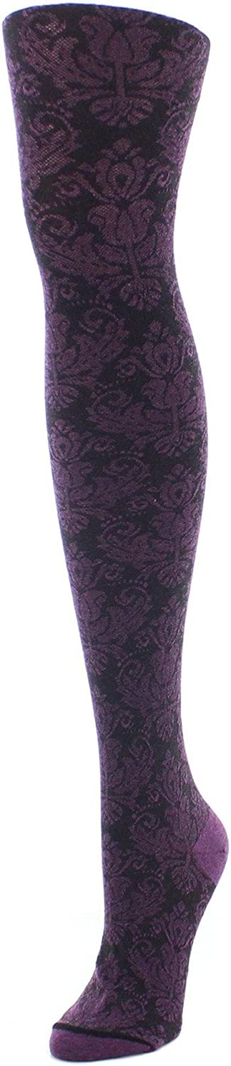 MeMoi Baroque Patterned Sweater Tights