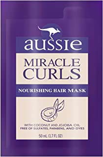 Aussie Miracle Curls Nourishing Hair Mask 1.7 fl oz, pack of 1