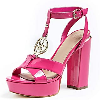 Para Amazon ZapatosY esFucsia Zapatos Mujer Guess X8wPk0nO