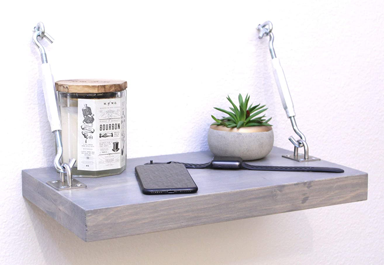 Floating Nightstand for Bedroom - Great For Small Spaces