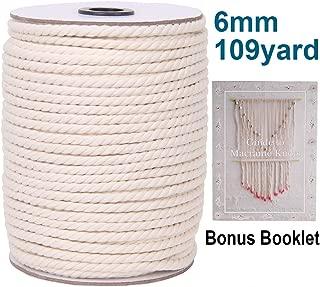 Best 6mm cotton cord Reviews