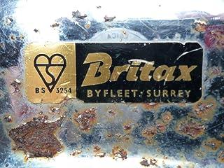 Britax Seat Belt Buckle Stickers ブリタックス ステッカー デカール シール 38mm x 13mm 2枚セット [並行輸入品]