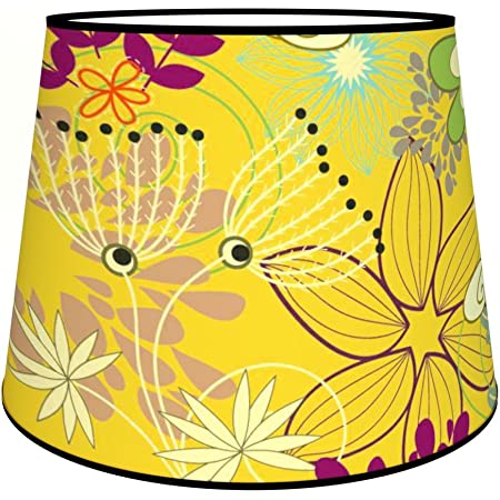 Abat-jours 7111309893385 Conique Gica Lampadaire, Tissus/PVC, Multicolore