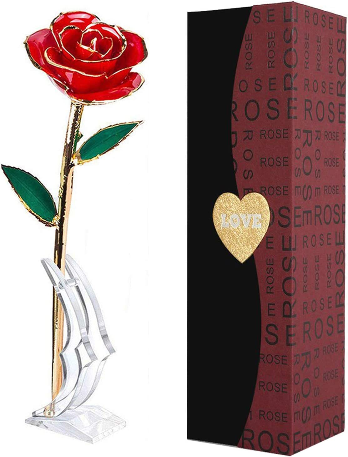First Married Valentine/'s Day Card Rose Gold