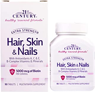 Hair Skin & Nails Extra Strength - 90 Tablets