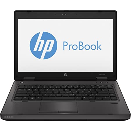 HP ProBook 6470B 14in HD Notebook High Performance Business Laptop Computer, Intel i5-3210M up to 3.1GHz, 8GB RAM, 128GB SSD, DVD, WiFi, Windows 10 Pro 64 Bit (Renewed)