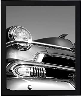 Americanflat Poster Frame, 18x24 inches, Thick Molding, Black (Renewed)