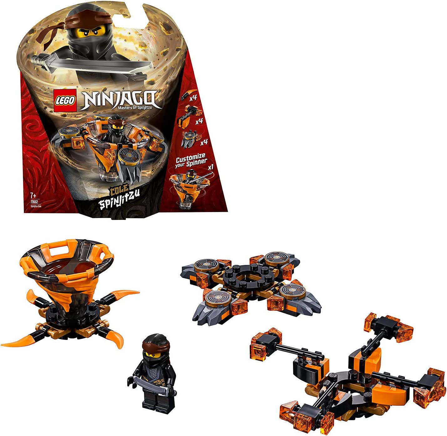 Lego 70662 Ninjago Spinjitzu Cole: Amazon.de: Spielzeug