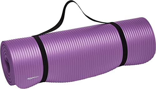 Amazon Basics 1/2-Inch Extra Thick Exercise Yoga Mat