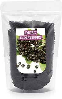 HerbaNordPol Dried ELDERBERRIES from Europe Premium Quality 900GR 2LB