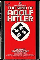 The Mind of Adolf Hitler Capa comum