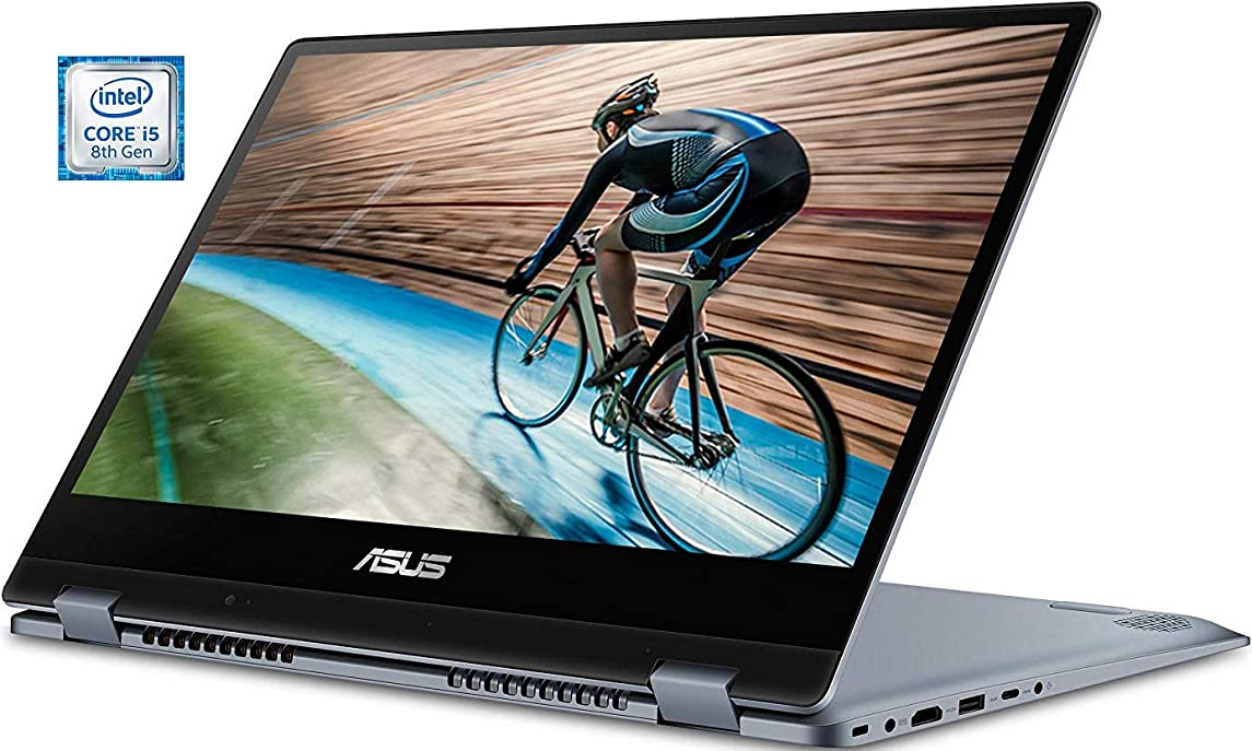Asus Vivobook Flip 2 in 1, i3-8130U Upto 3.4GHz, 256GB M.2 SSD, 8GB DDR4, Touchscreen 14