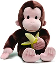 "GUND Curious George with Banana Plush Stuffed Animal, 20"""
