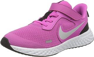 Unisex-Child Revolution 5 Pre School Velcro Running Shoe