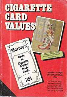 Cigarette Card Values: Guide to Cigarette and Other Trade Cards
