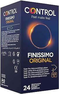 comprar comparacion Control Finissimo - Caja de condones muy finos, gama sensibilidad, lubricados, ajuste perfecto, sexo seguro, 24 unidades (...