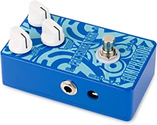 Caline Electric Guitar Compressor Pedal Pressure Tank Blue Guitar Effects Pedals Aluminum Alloy with True Bypass CP-47