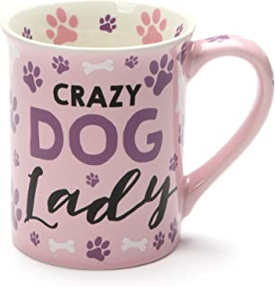 crazy dog lady mug