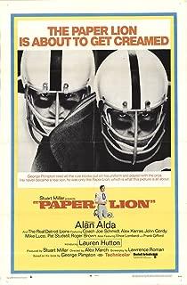 Paper Lion 1968 Authentic 27