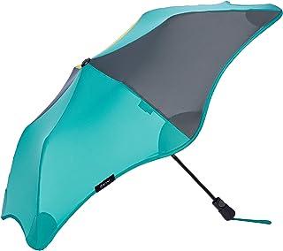 [ムーンバット] BLUNT ブラント 正規品 ライト LITE 婦人折 耐風傘 UV 晴雨兼用 日傘 ジャンプ 親骨51cm 丈夫 オシャレ 無地コンビパイピング アウトドア ユニセックス