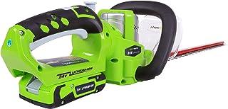 Greenworks 24 V sladdlös häcksax 57 cm inklusive 2 Ah batteri och laddare – 2200107UA