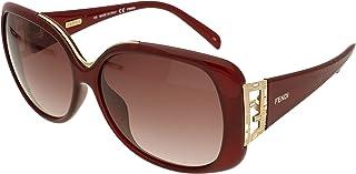 FENDI - Gafas de Sol - para Hombre Rojo Oscuro