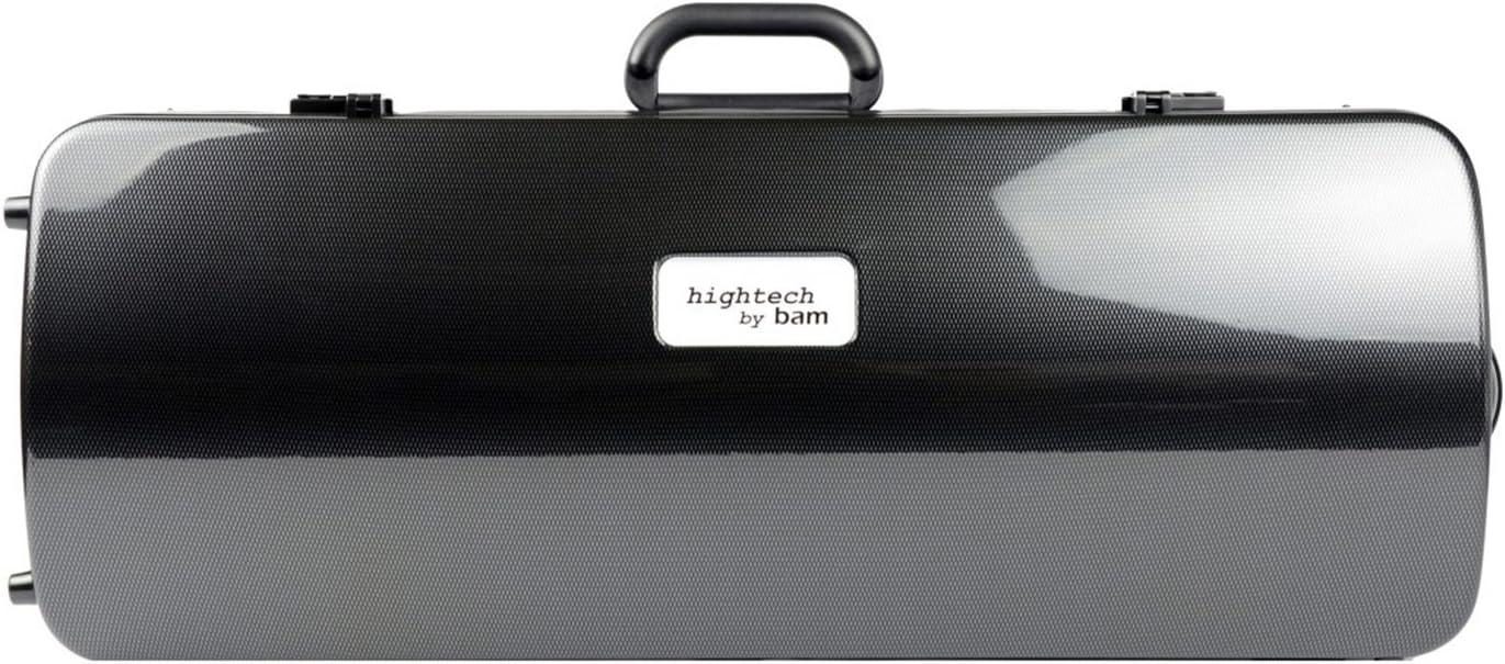 Bam Hightech 2005XLC Bombing free shipping Black Carbon Gorgeous 4 Double Case Violin