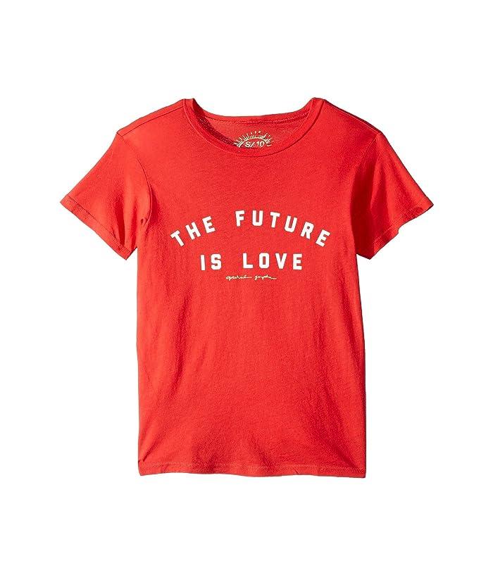 Spiritual Gangster Kids Future Tee (Toddler/Little Kids/Big Kids) (Tulip) Girl's T Shirt
