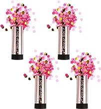 ABOOFAN 4Pcs Revelar Varinhas Do Bebê Menina Rosa Papel Tissue Confete Canhão para a Celebração de Aniversário Decorações ...