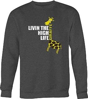 Best livin the high life giraffe sweatshirt Reviews