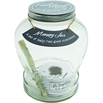 Amazon Com Top Shelf Retirement Wish Jar With 100 Tickets Pen And Decorative Lid Home Kitchen