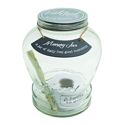 Top Shelf Feel Good Memory Jar ; Personalized Keepsakes for Friends and Family ; Unique Gift