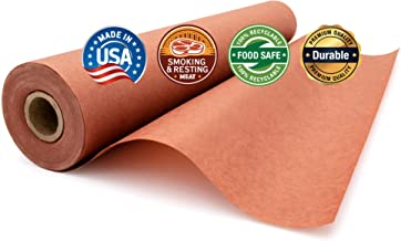 Pink Butcher Paper Roll (24 inches x 200 feet), Unbleached, Unwaxed & Uncoated for Smoking & Resting Meat by Paper Pros