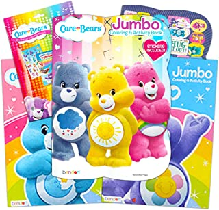 Bendon Care Bears Jumbo Color and Activity (96 Pages, Set Of 4 Books)