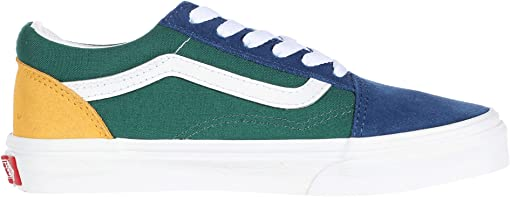 (Vans Yacht Club) Blue/Green/Yellow