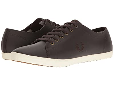 Fred Perry Kingston Leather (Dark Chocolate/Dark Chocolate) Men