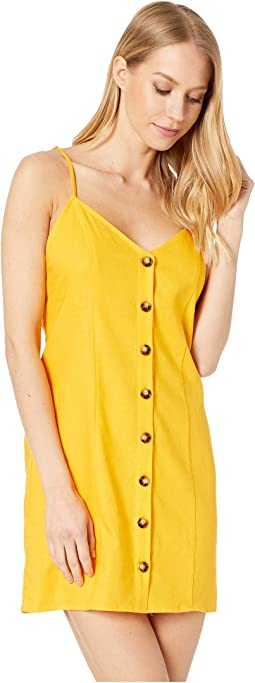 Canary Yellow Linen
