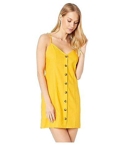 Show Me Your Mumu Remington Dress (Canary Yellow Linen) Women