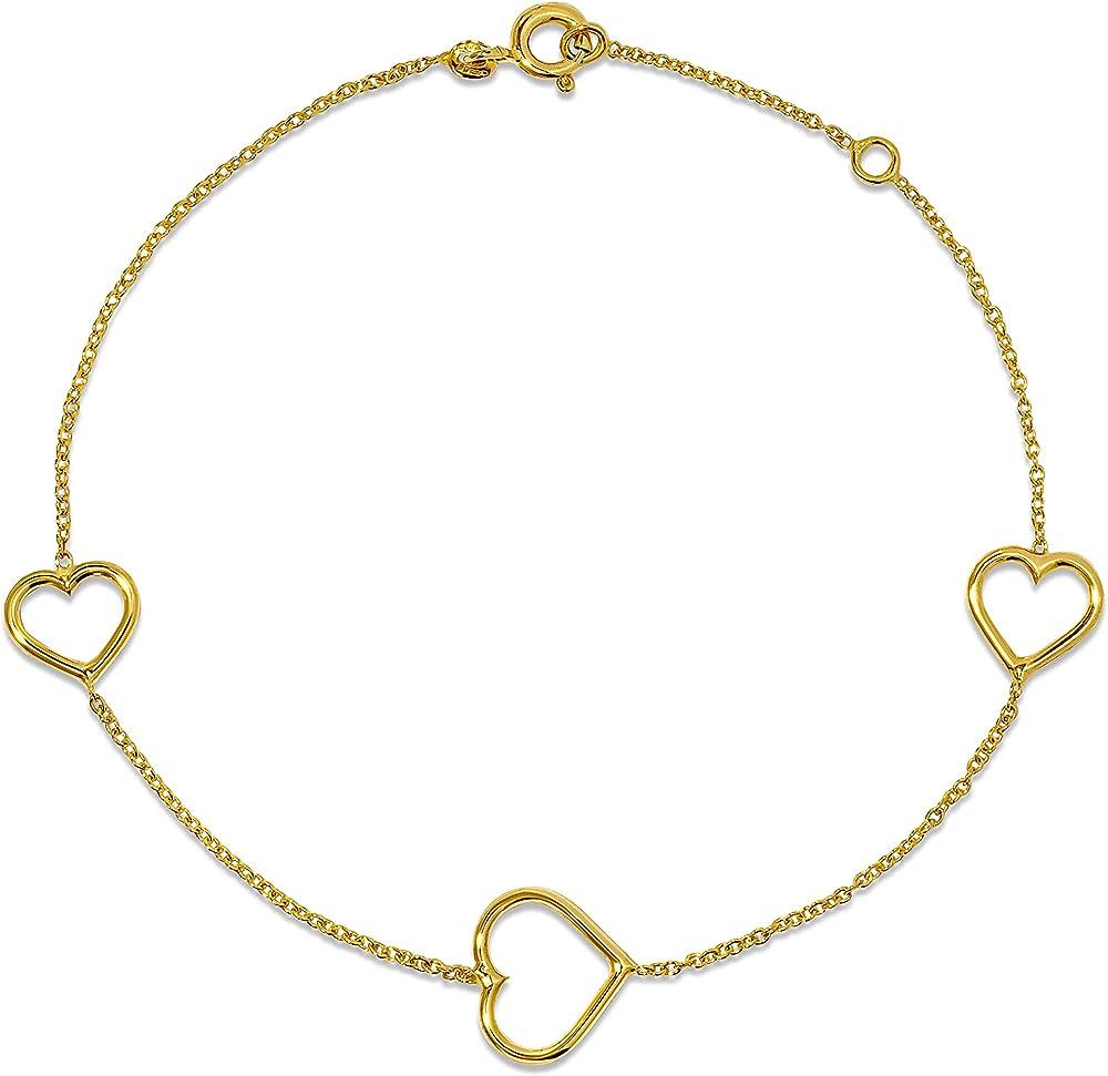 Miore, bracciale per donna ,in oro giallo 9 kt/375(1,2 gr) MGM921B