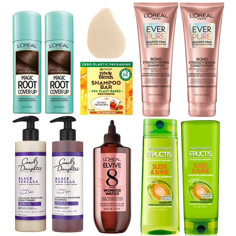 Up to 34% off Hair Care from L'Oreal Paris, Garnier, Carol's Daughter and more