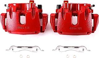 Power Stop S5296A Bremssattel Set, pulverbeschichtet, Rot