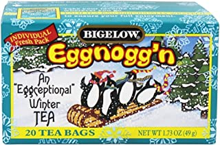Bigelow Tea, Tea, Egg Nog, box 20 Bags