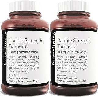 Double Strength Turmeric - Massive 1000mg x 360 tablets (