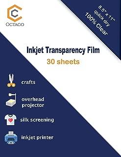 Best acetate for inkjet printers Reviews