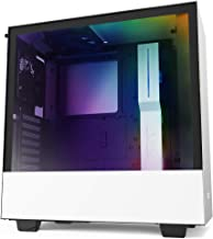 NZXT H510i - CA-H510i-W1 - Compact ATX Mid -Tower PC Gaming Case - Front I/O USB Type-C Port - Vertical GPU Mount - Temper...